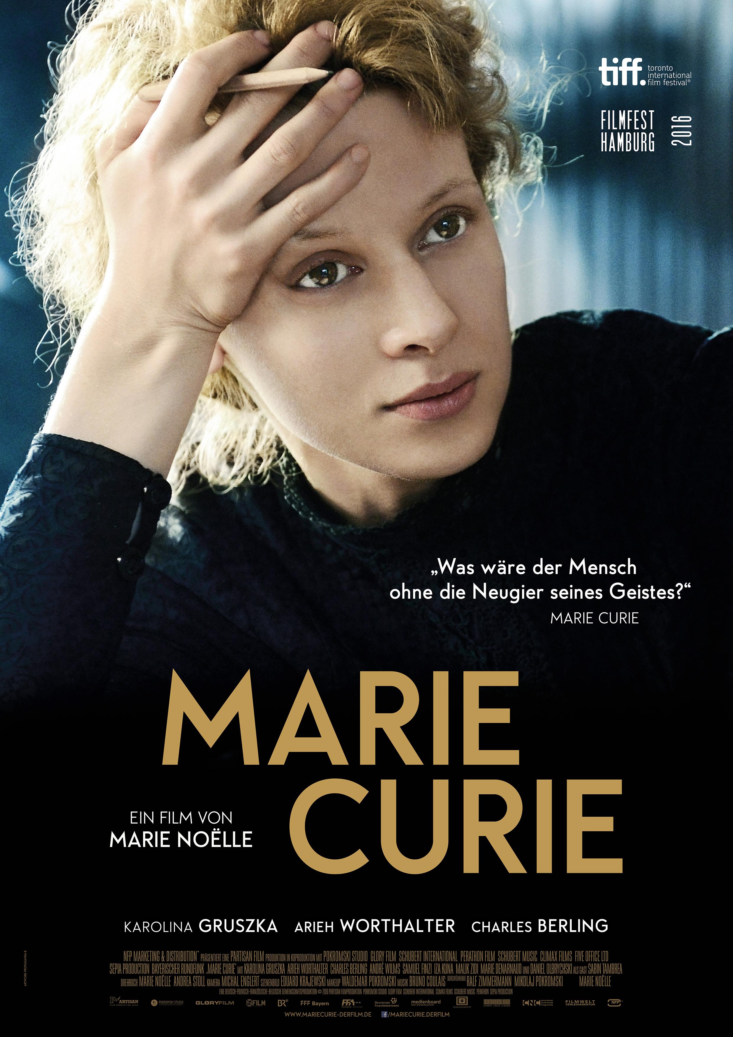 Marie Curie kapak