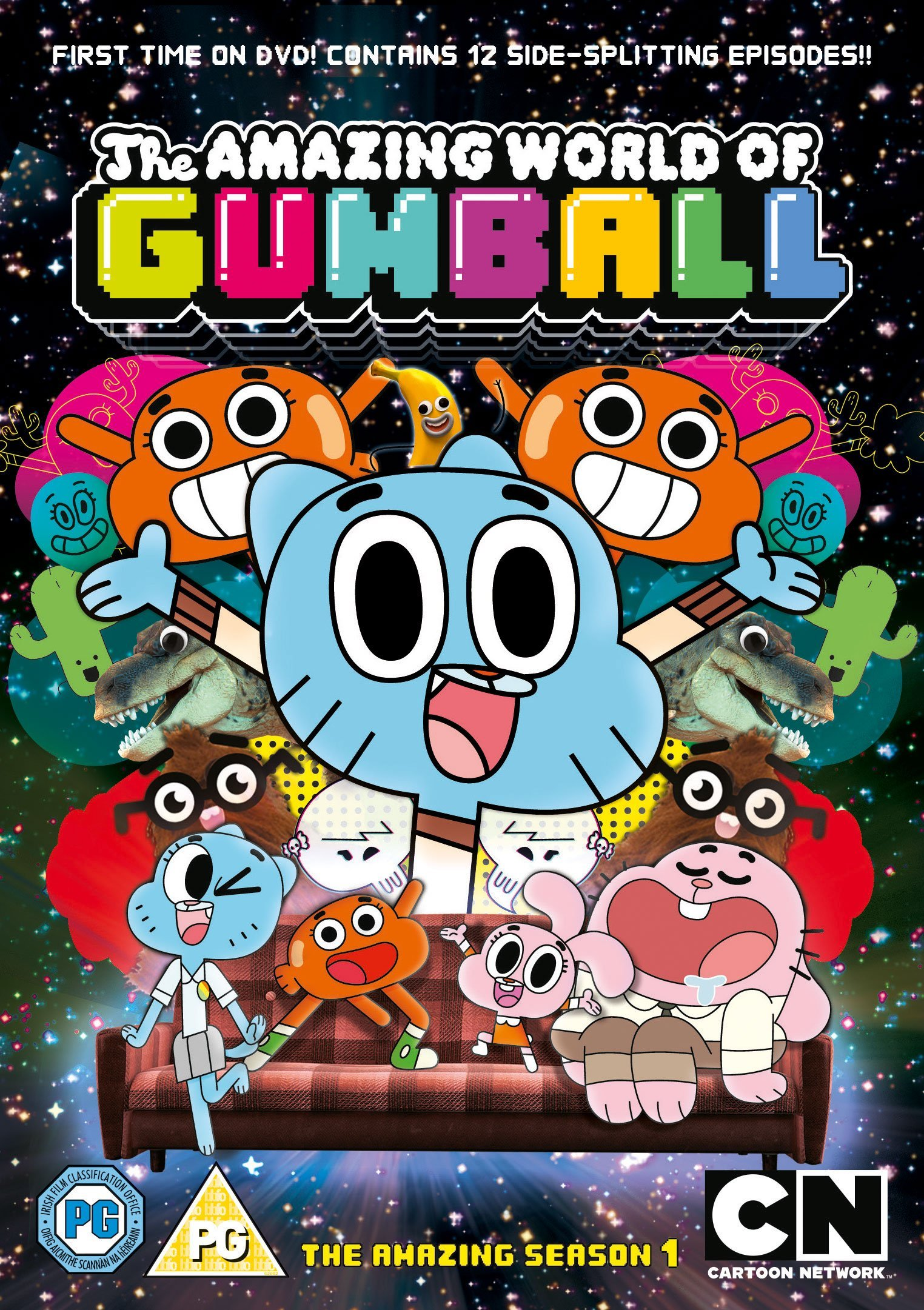 The Amazing World of Gumball kapak