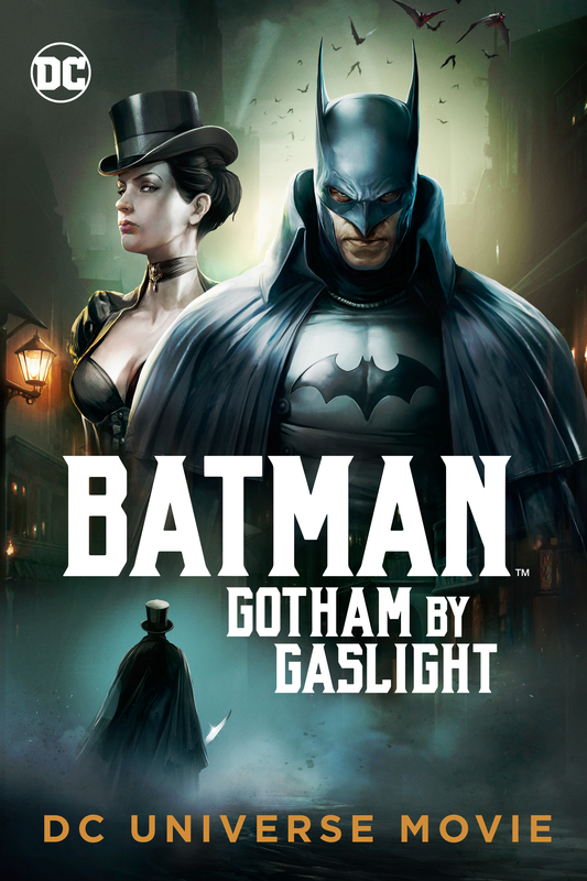 Batman: Gotham by Gaslight kapak