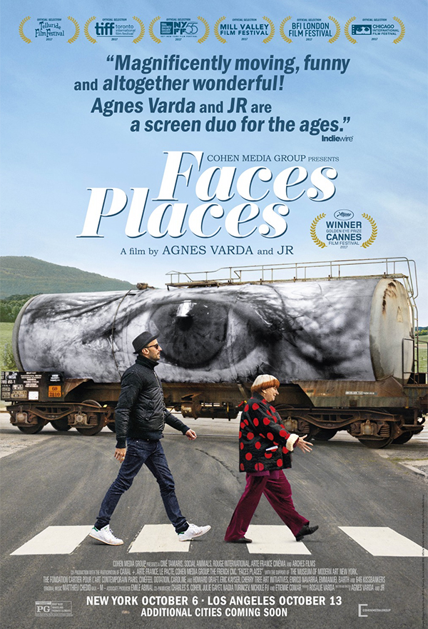 Faces Places kapak