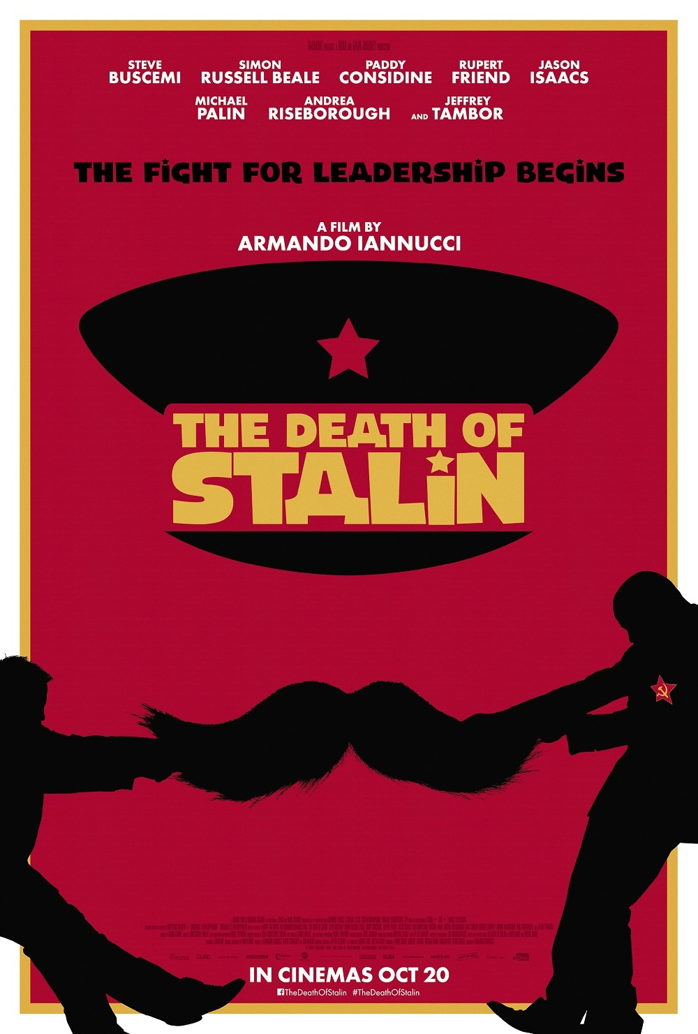 The Death of Stalin kapak