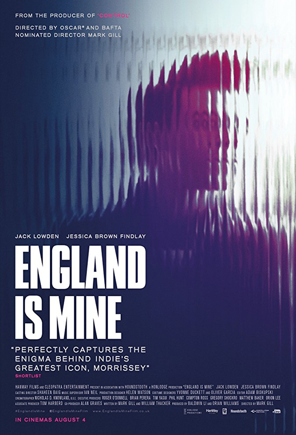 England Is Mine kapak