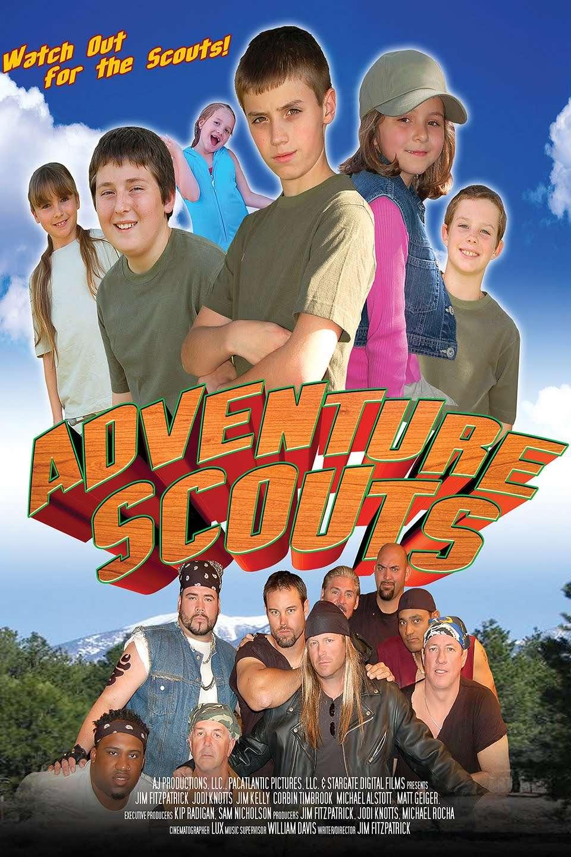 Adventure Scouts kapak