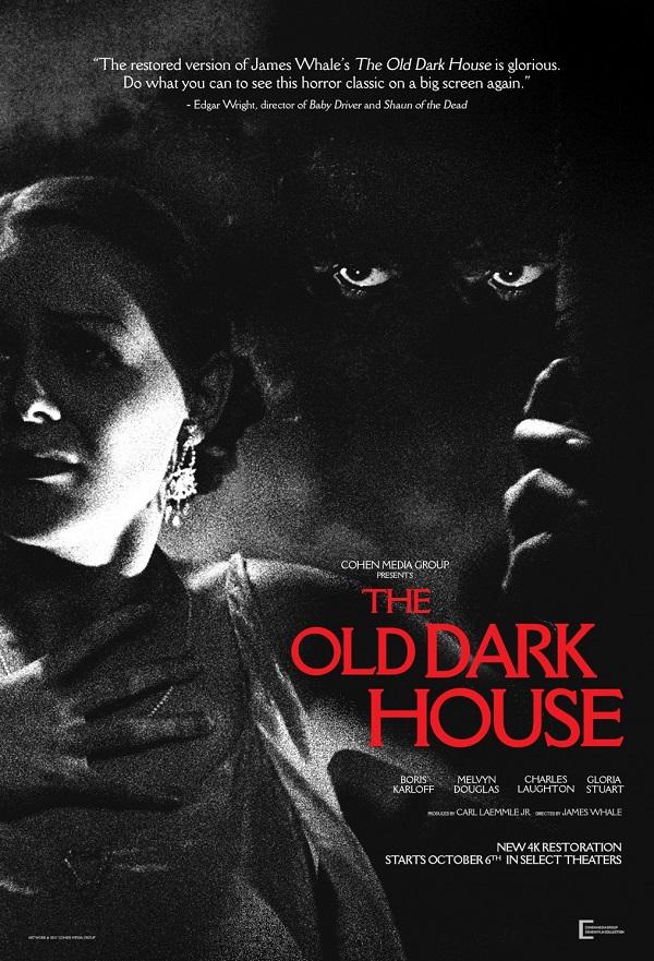 The Old Dark House kapak