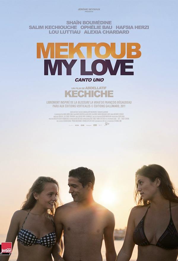 Mektoub, My Love: Canto Uno kapak