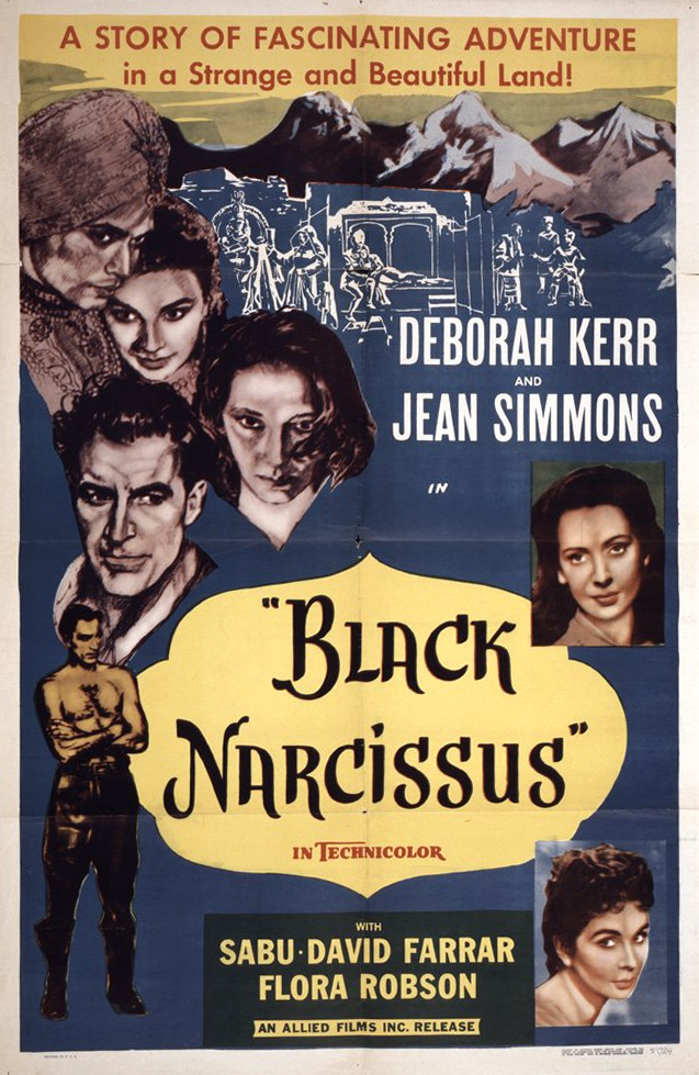 Black Narcissus kapak