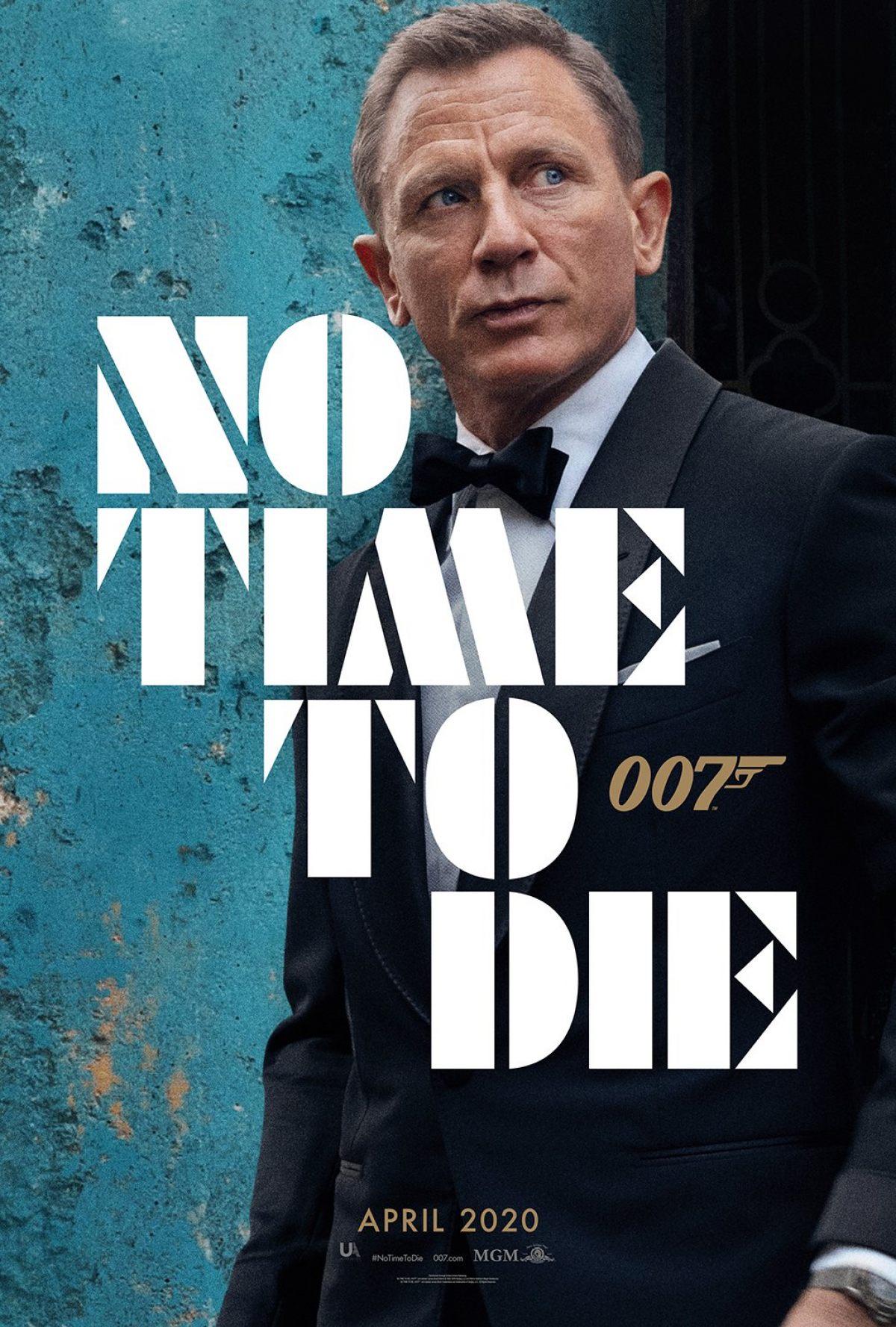 No Time to Die kapak