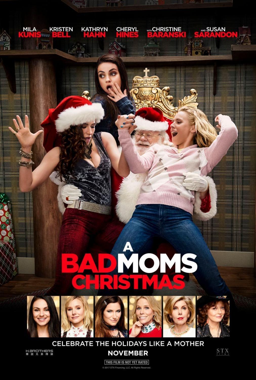 A Bad Moms Christmas kapak