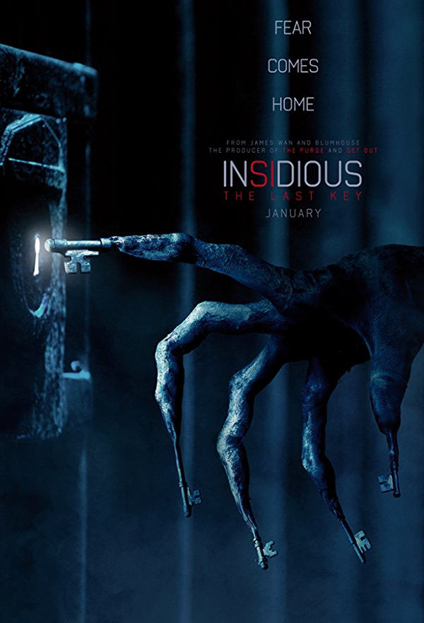 Insidious: The Last Key kapak