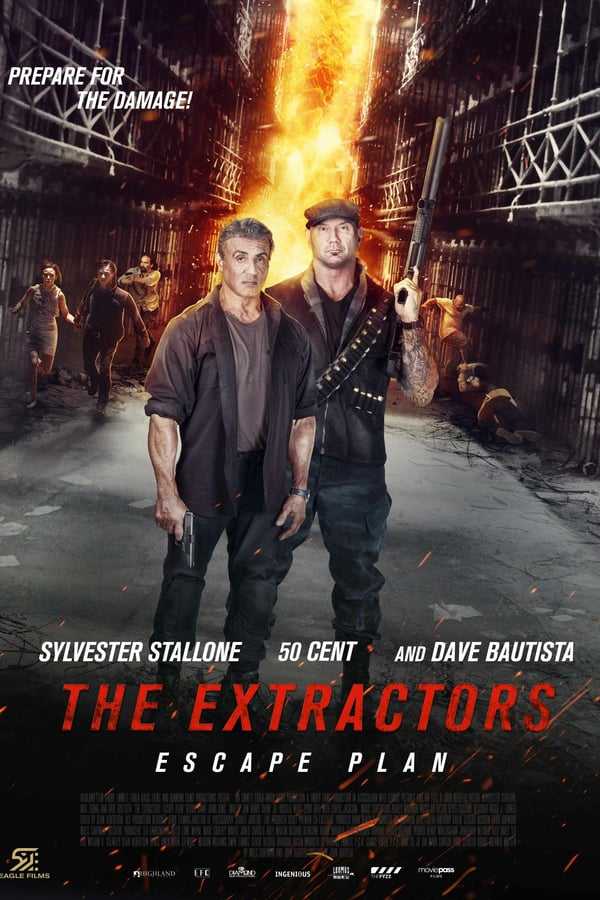 Escape Plan: The Extractors kapak