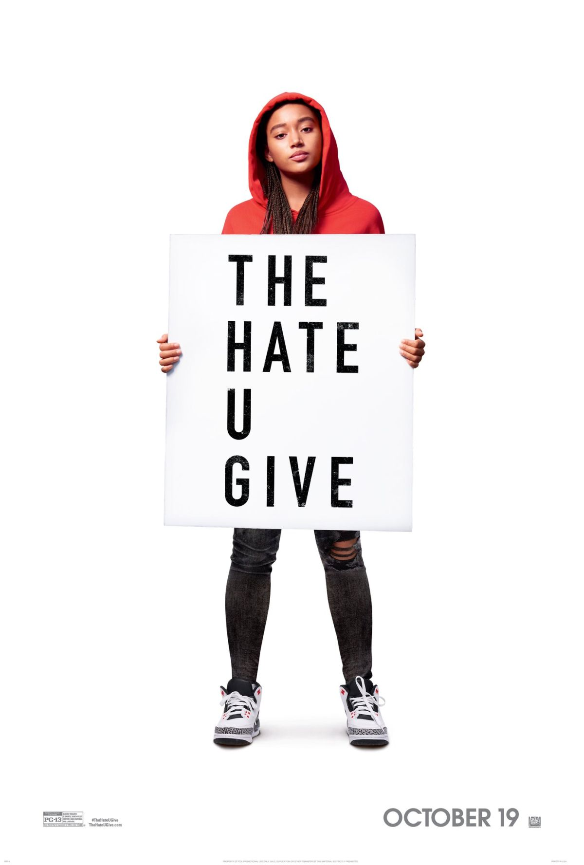 The Hate U Give kapak