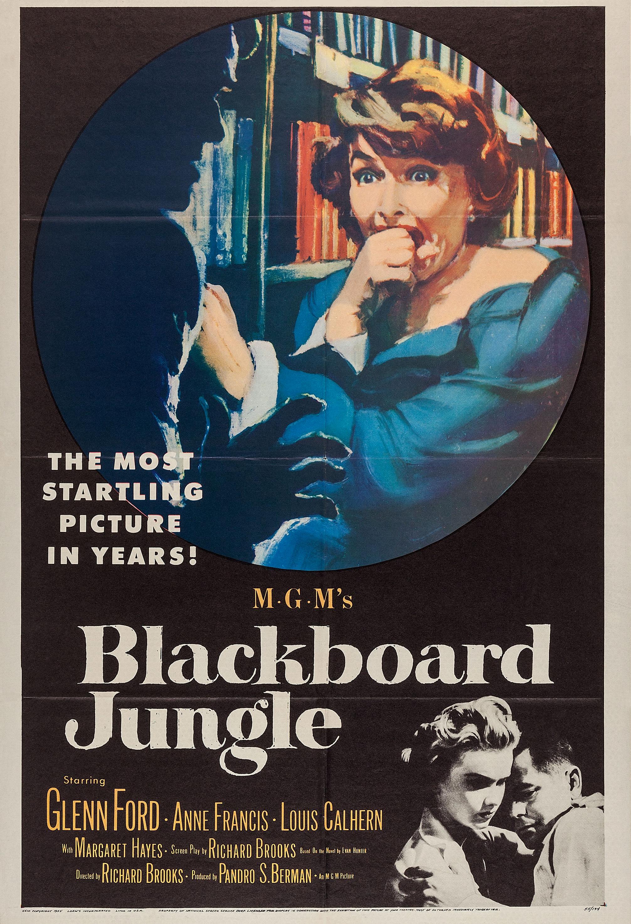 Blackboard Jungle kapak