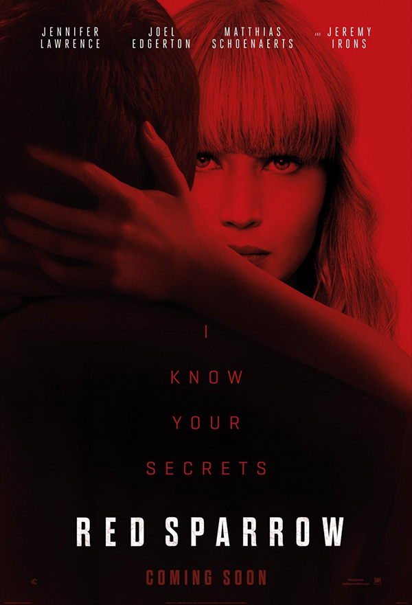 Red Sparrow kapak