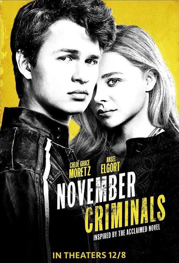 November Criminals kapak