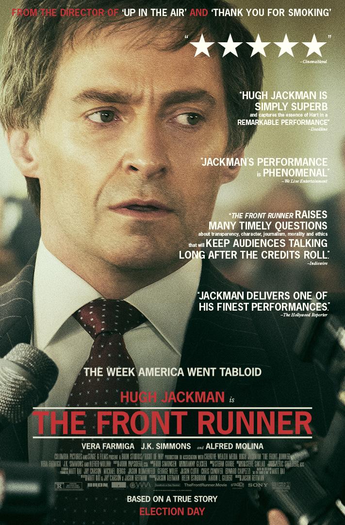 The Front Runner kapak