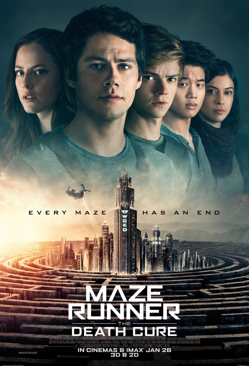 Maze Runner: The Death Cure kapak