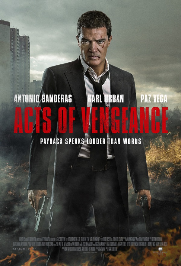 Acts Of Vengeance kapak