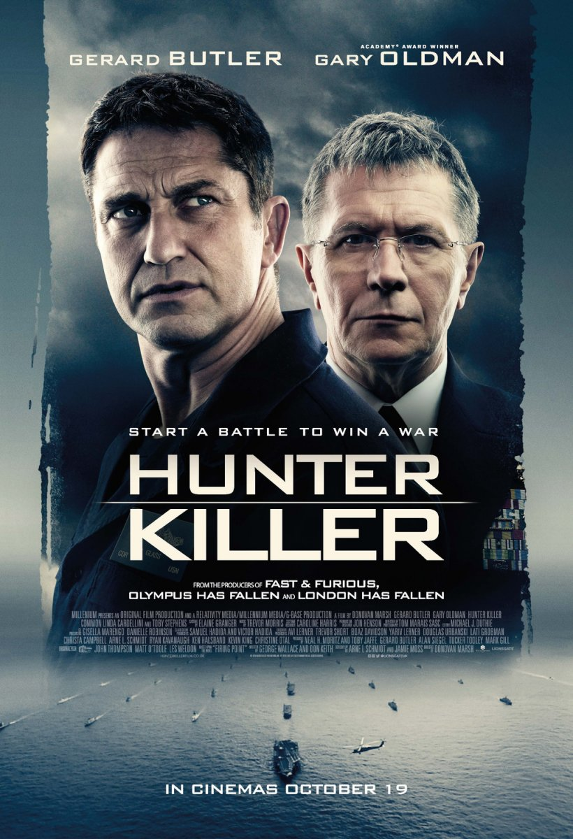 Hunter Killer kapak