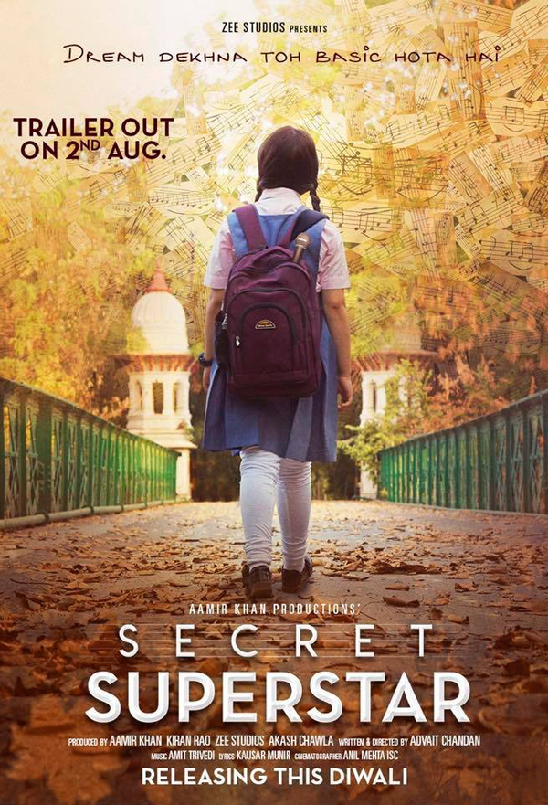 Secret Superstar kapak
