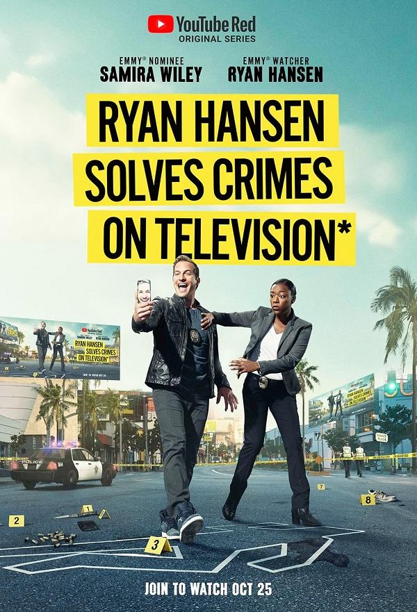 Ryan Hansen Solves Crimes on Television kapak