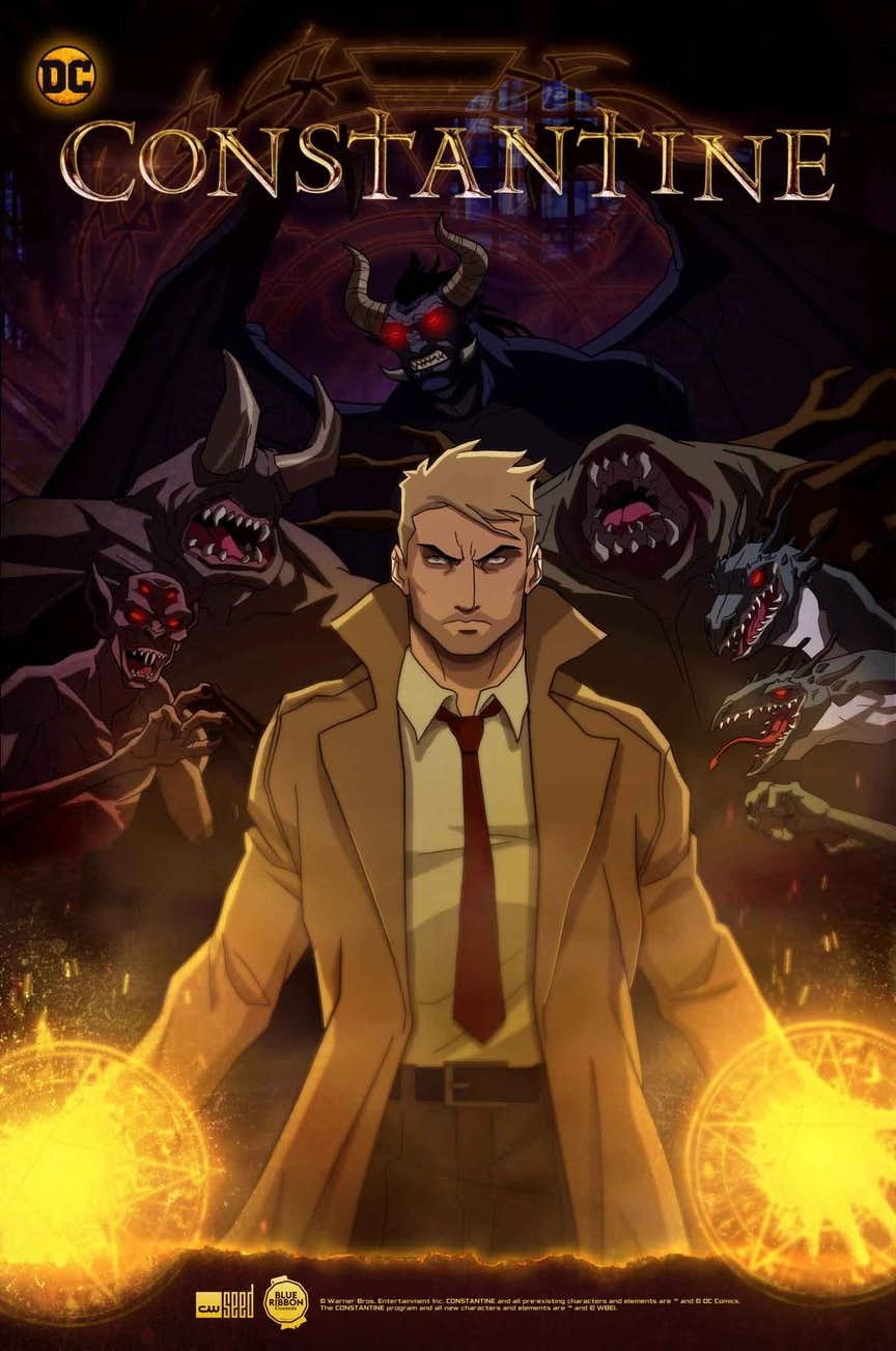 Constantine: City of Demons kapak