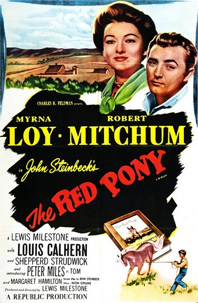 The Red Pony kapak