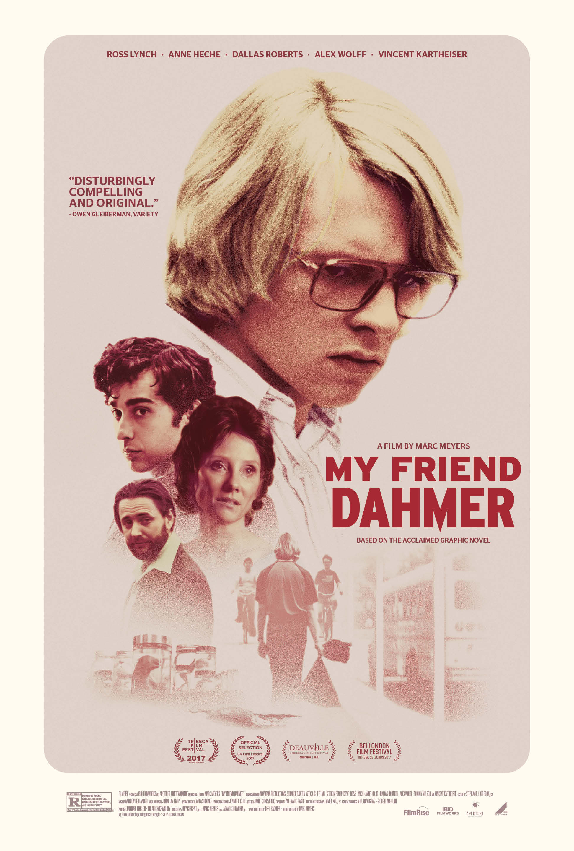 My Friend Dahmer kapak