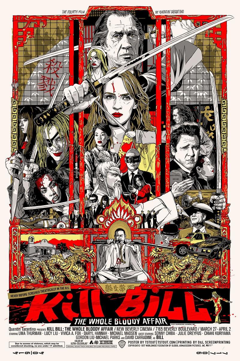 Kill Bill: The Whole Bloody Affair kapak