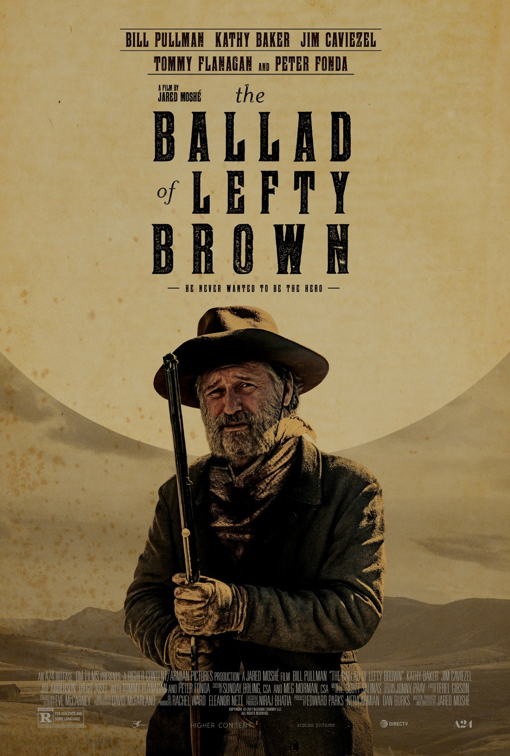 The Ballad of Lefty Brown kapak