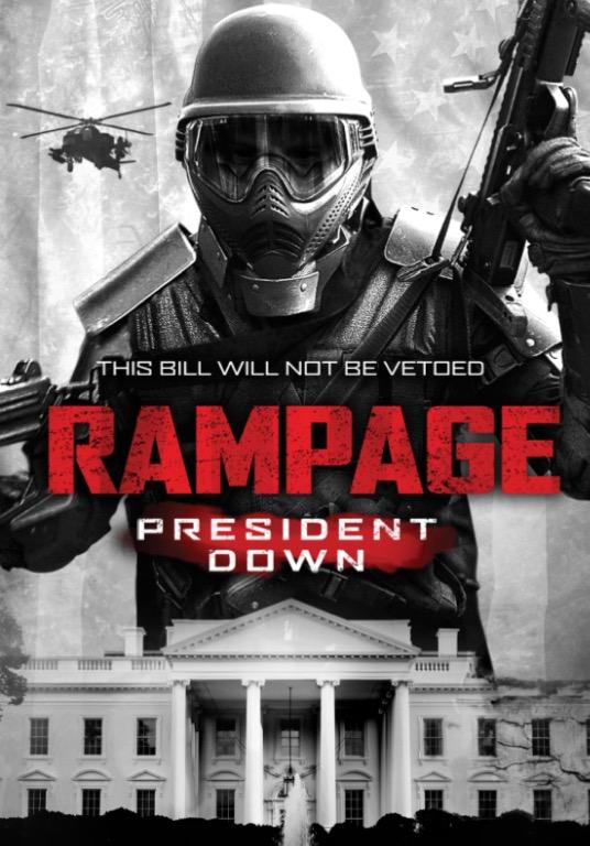 Rampage: President Down kapak