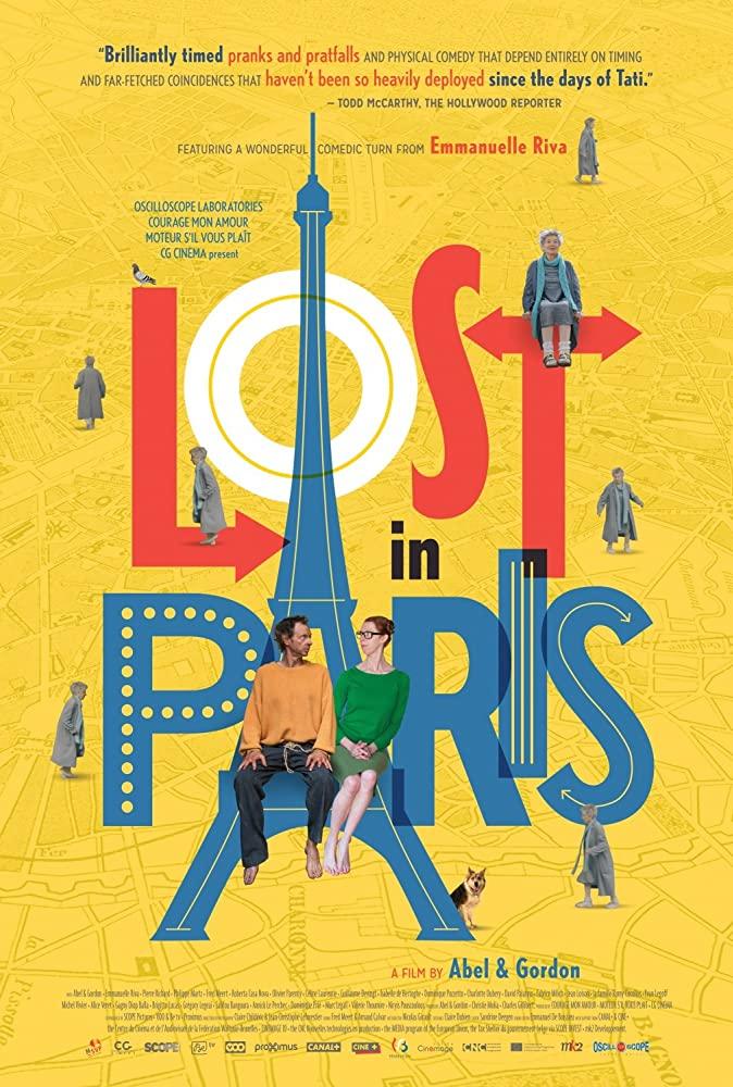 Lost in Paris kapak