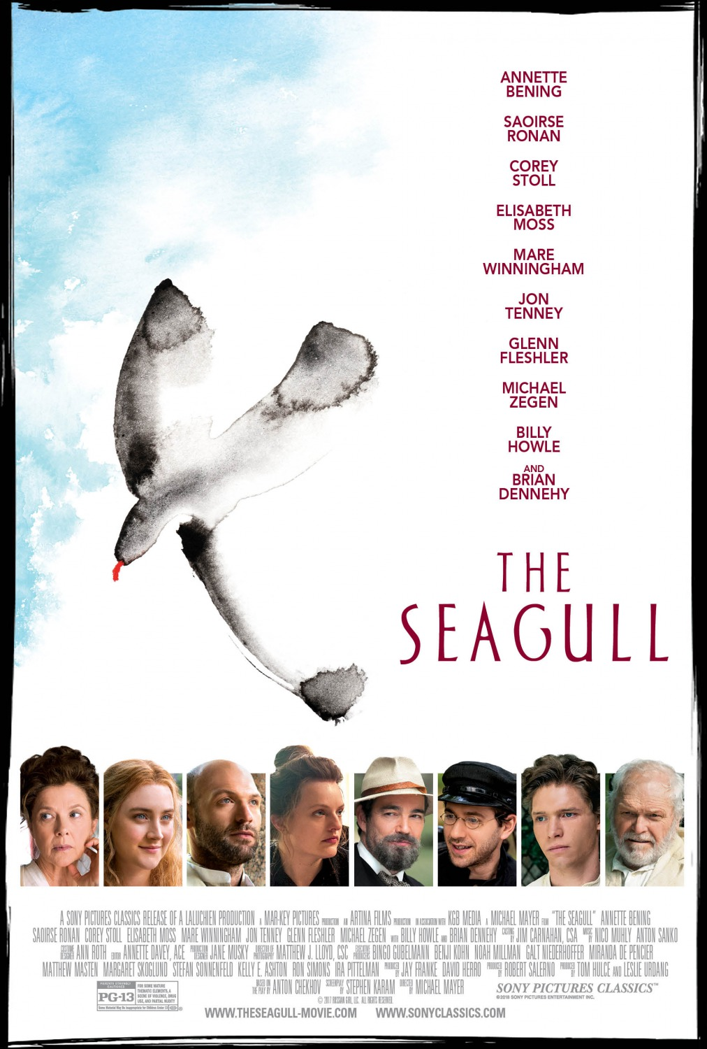 The Seagull kapak