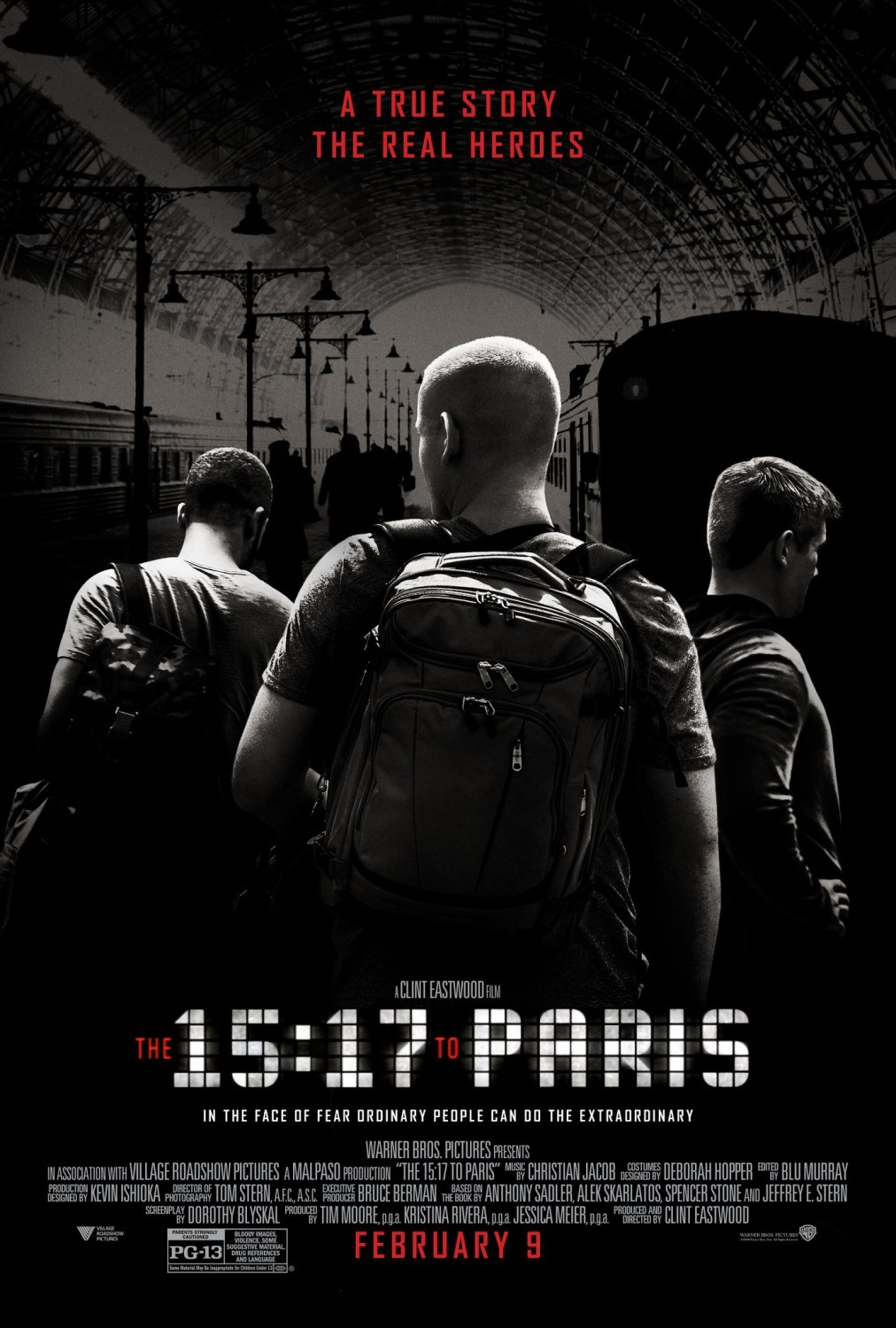 The 15:17 to Paris kapak