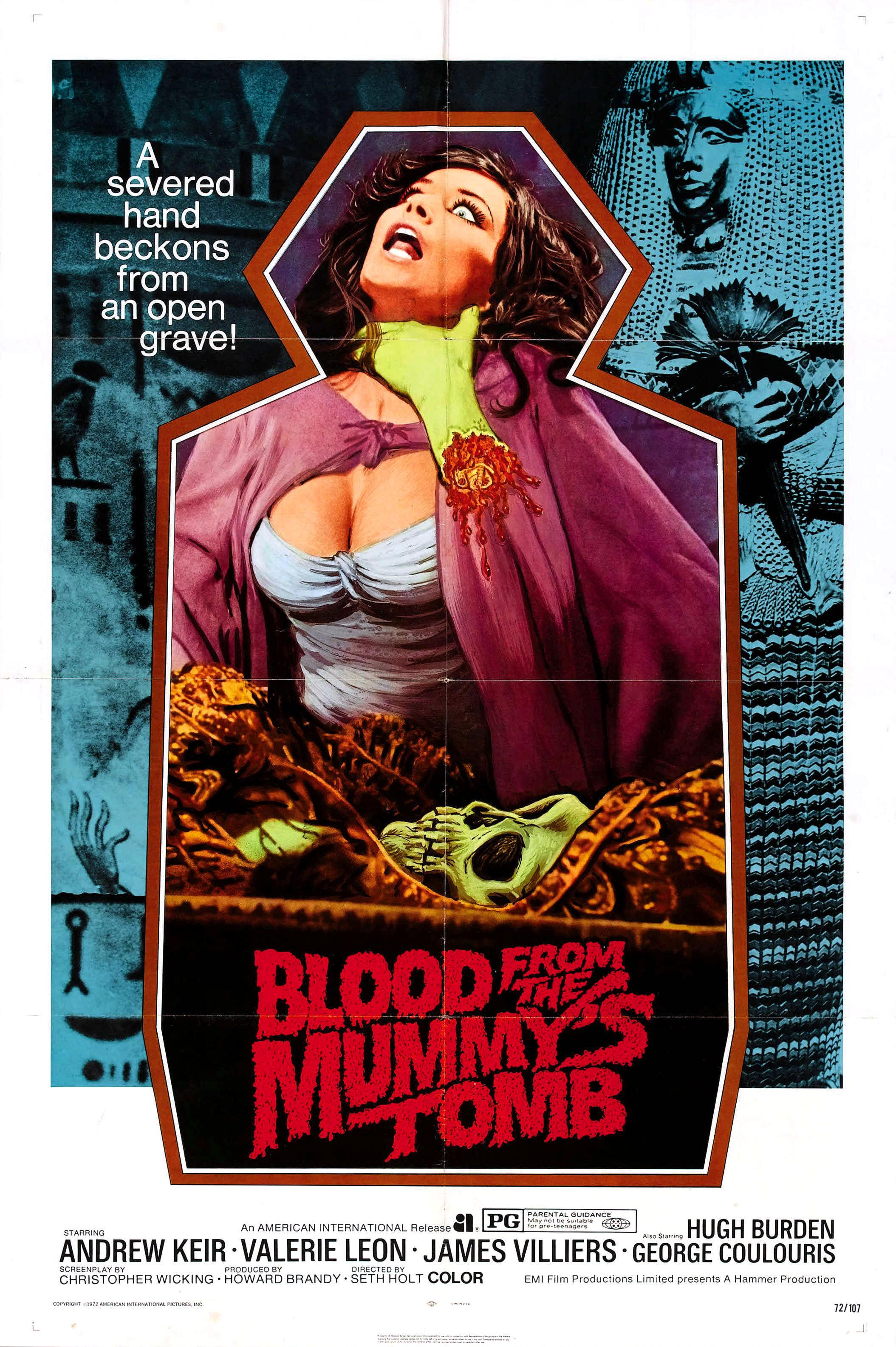 Blood from the Mummy's Tomb kapak