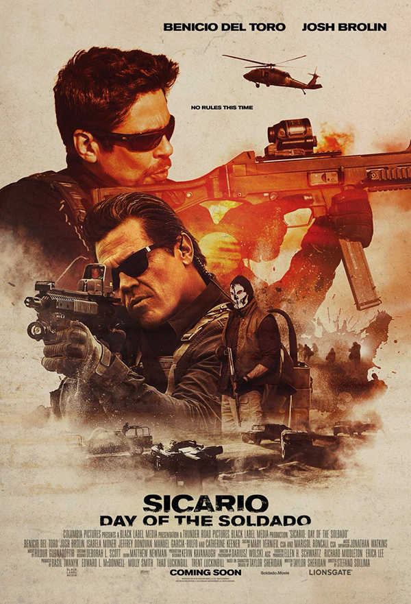 Sicario: Day of the Soldado kapak