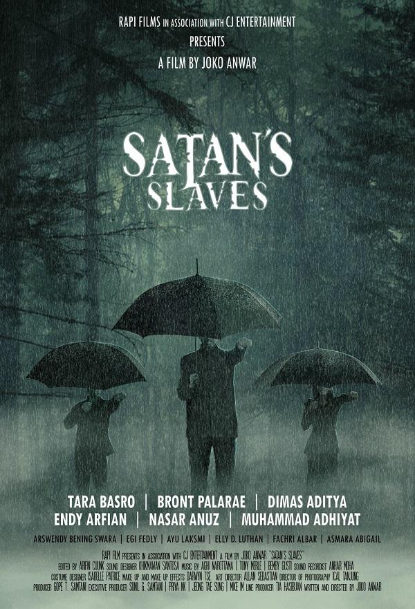 Satan's Slaves kapak