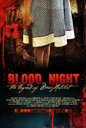 Blood Night: The Legend of Mary Hatchet kapak