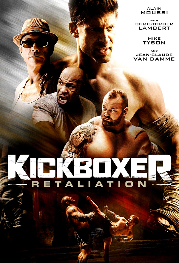 Kickboxer: Retaliation kapak