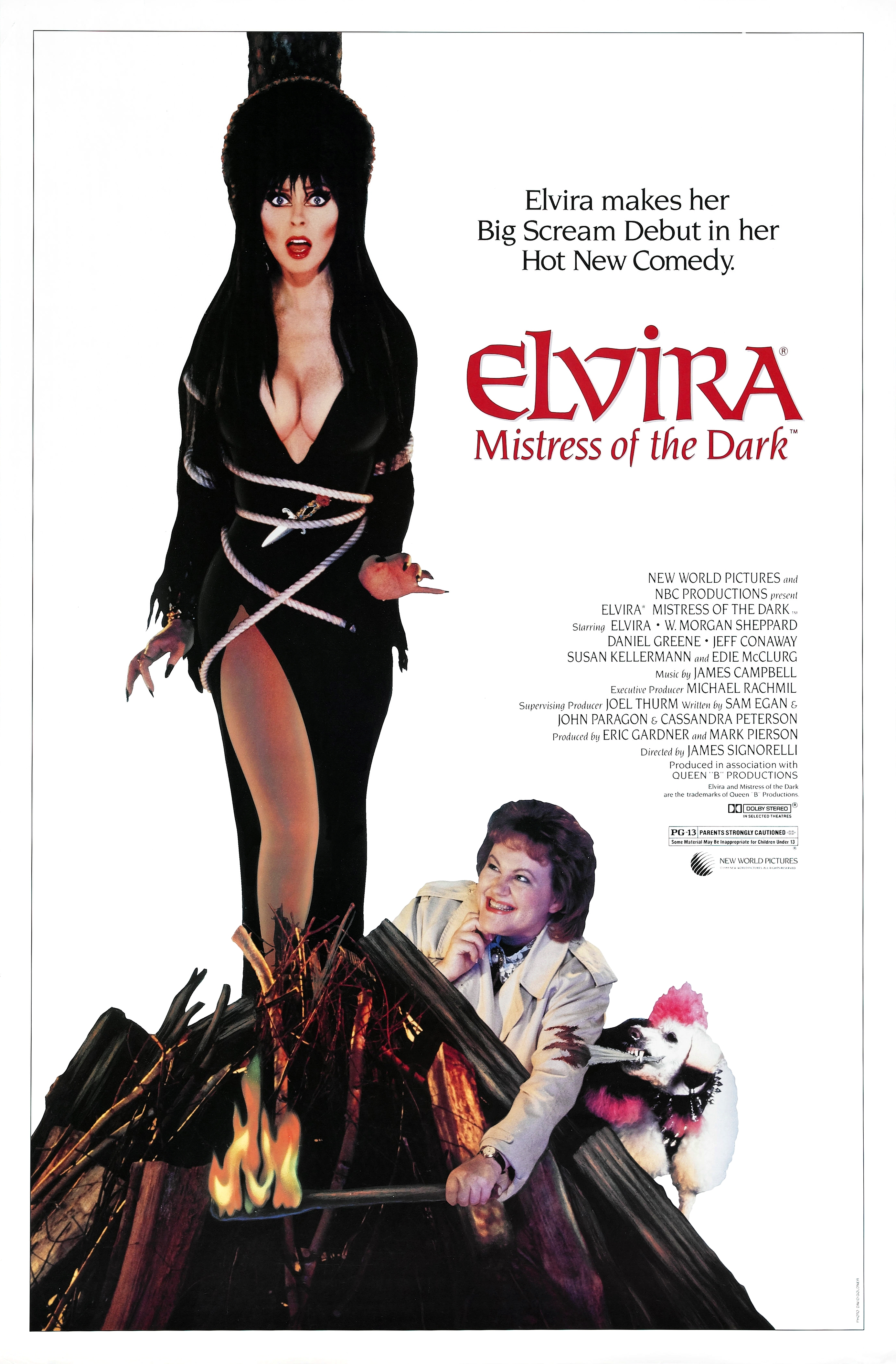 Elvira: Mistress of the Dark kapak