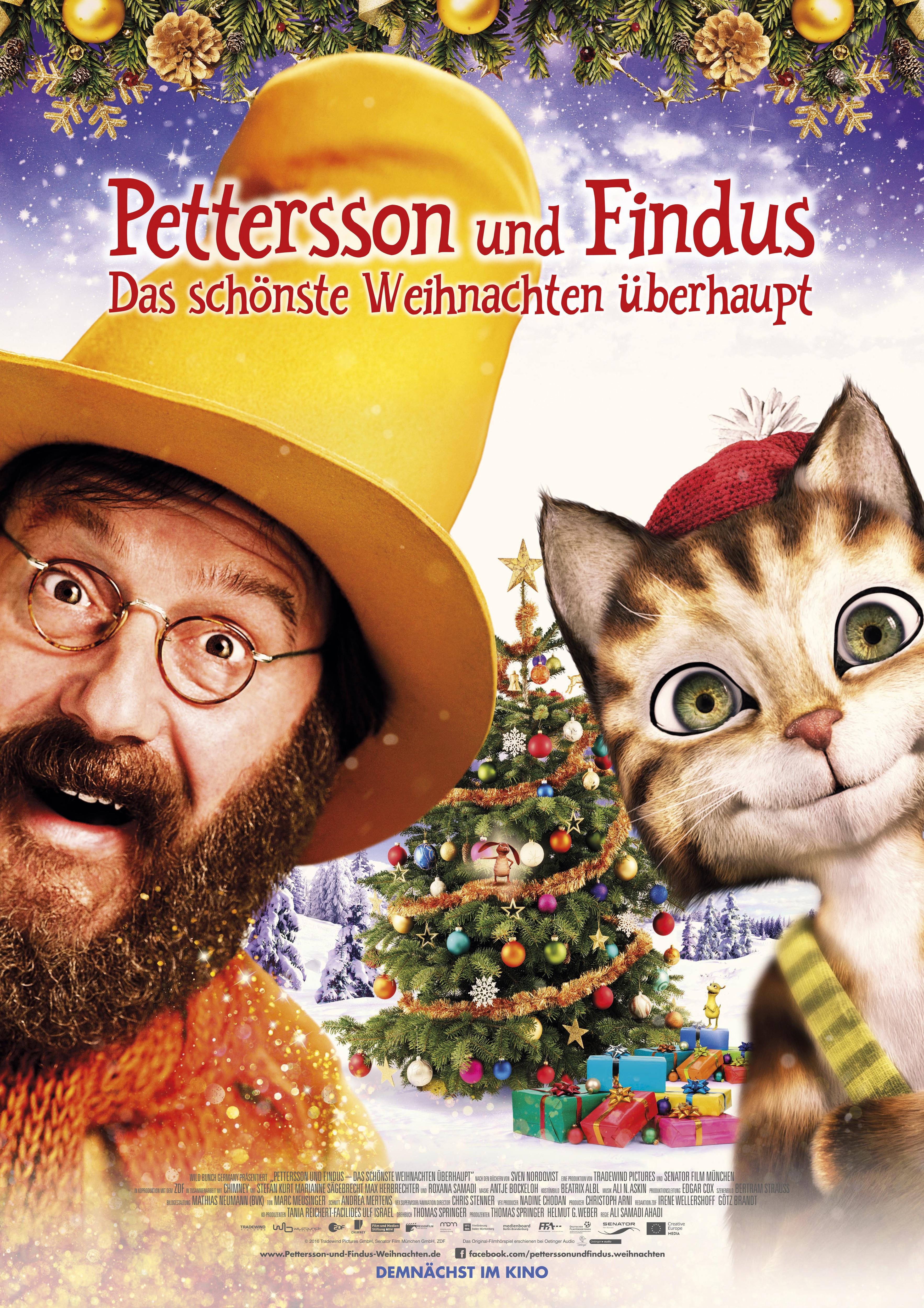 Pettersson und Findus 2 - Das schönste Weihnachten überhaupt kapak
