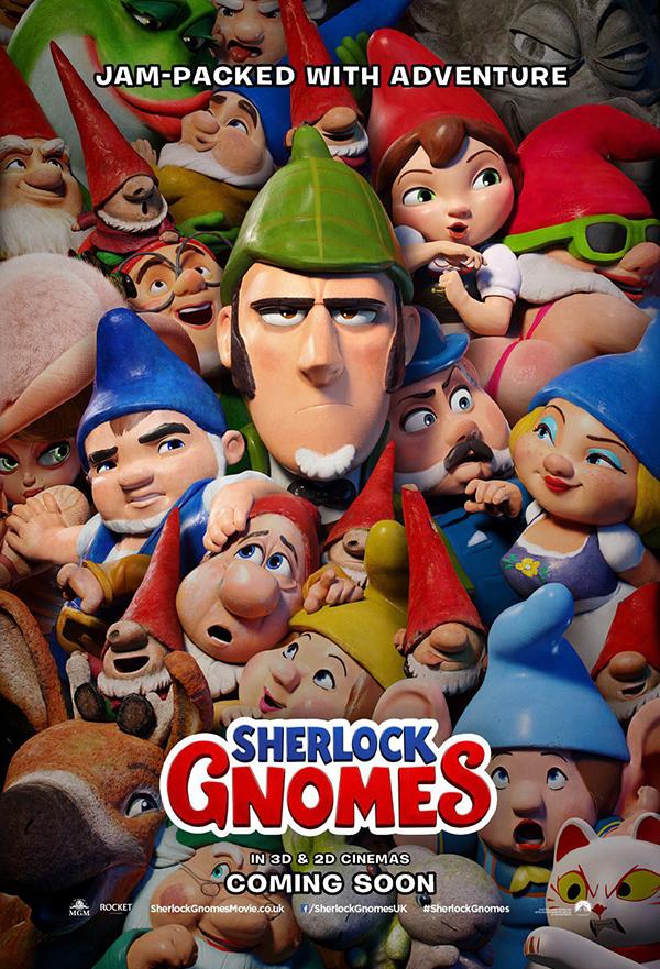 Sherlock Gnomes kapak