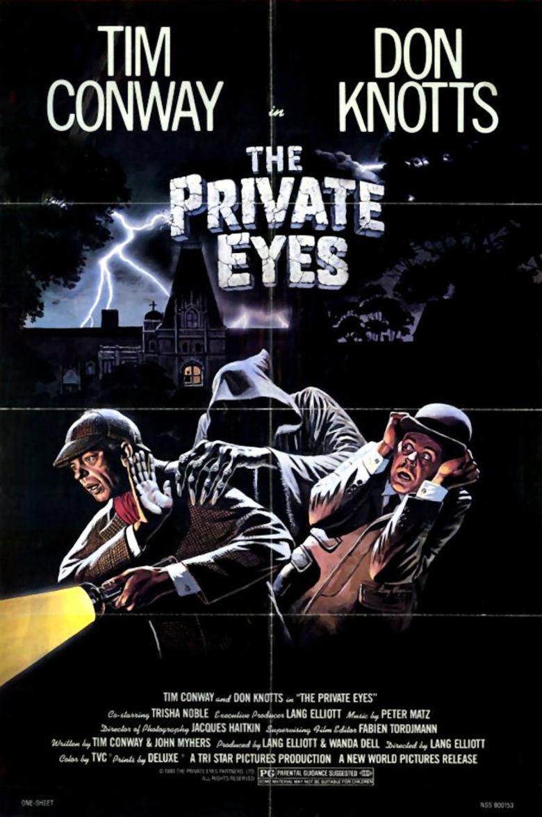 The Private Eyes kapak