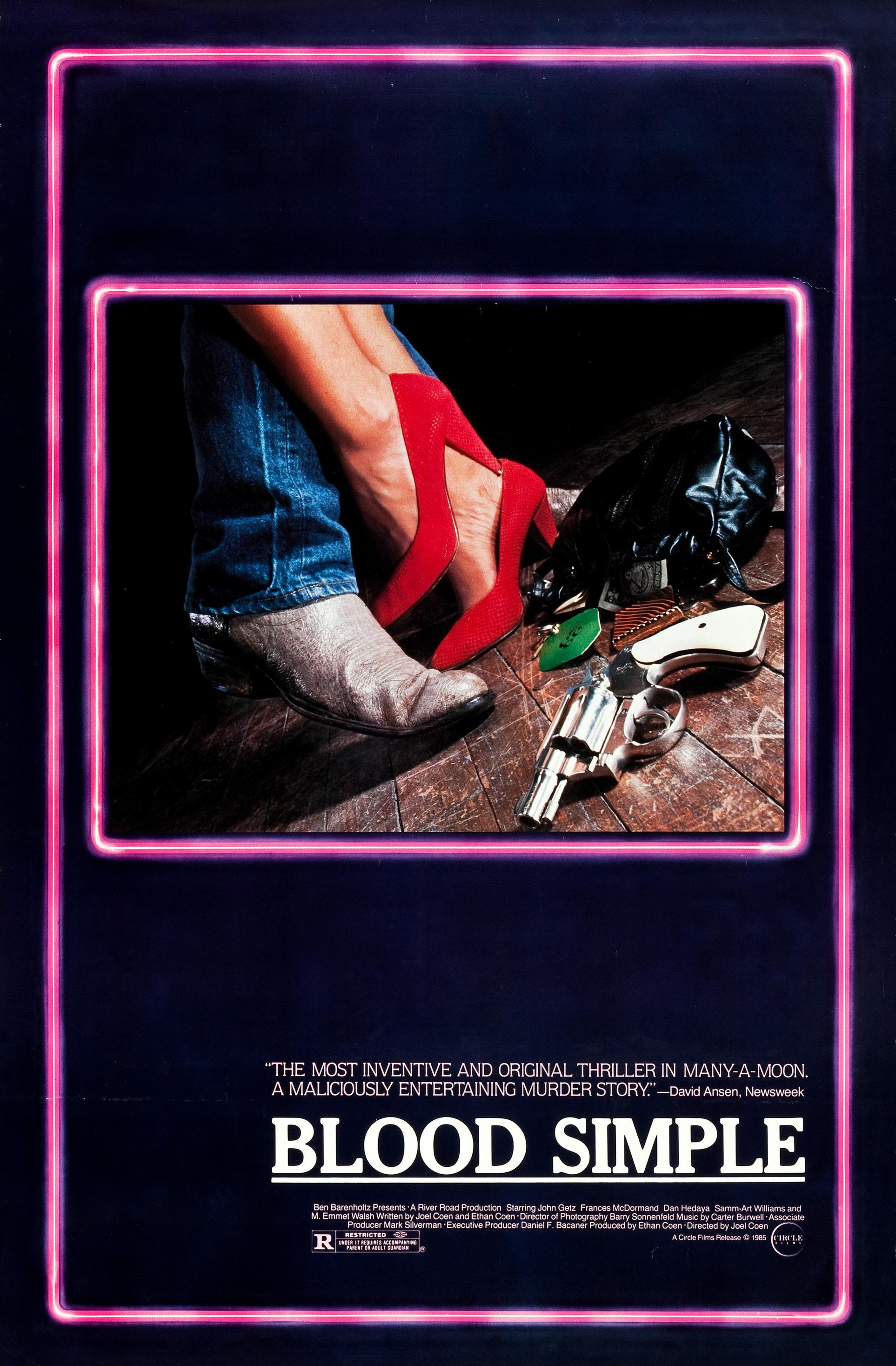 Blood Simple. kapak