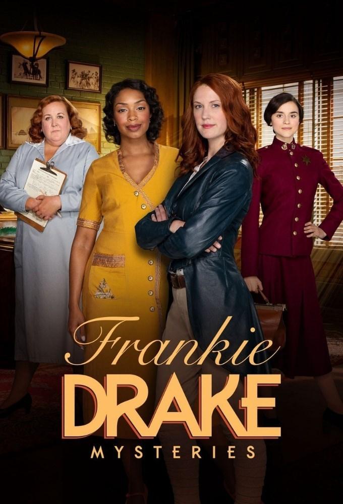 Frankie Drake Mysteries kapak