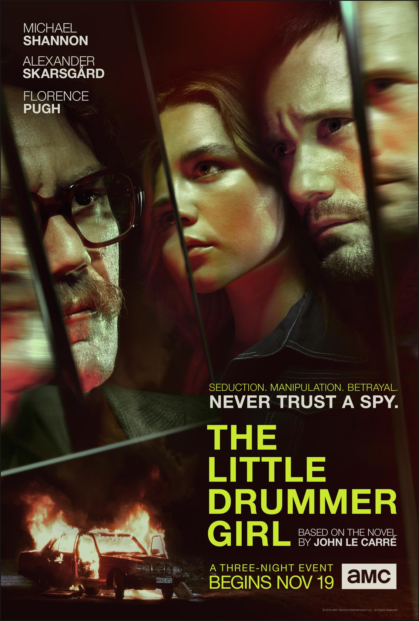 The Little Drummer Girl kapak