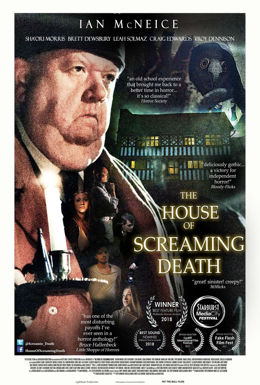 The House of Screaming Death kapak