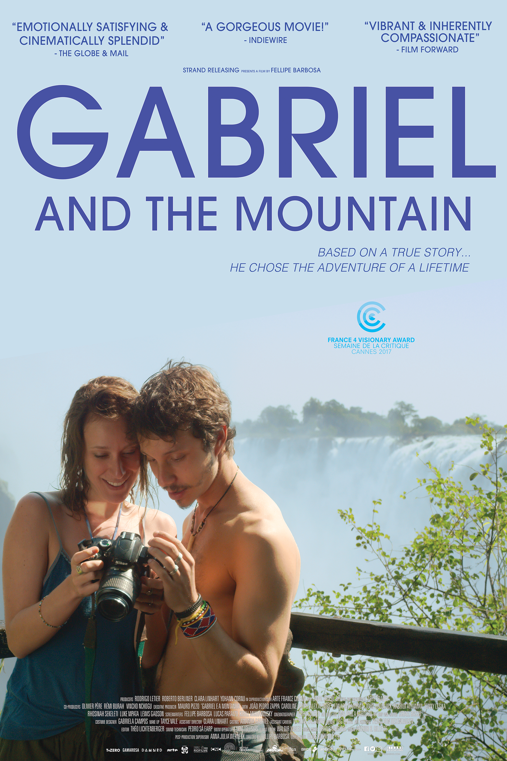 Gabriel and the Mountain kapak
