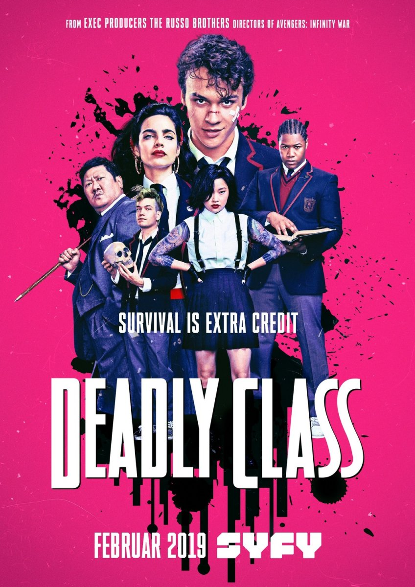 Deadly Class kapak