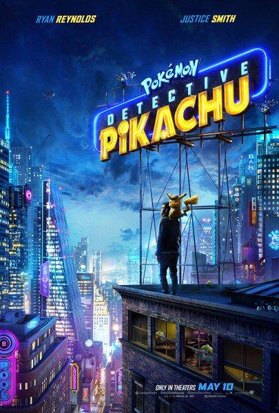 Pokémon Detective Pikachu kapak