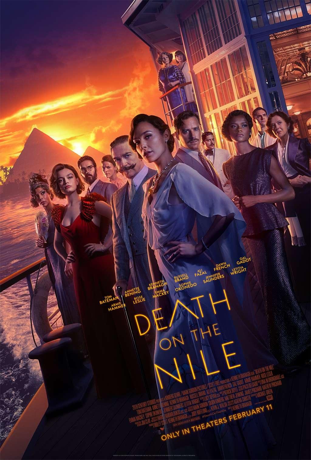Death on the Nile kapak